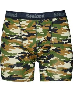 Seeland 2-pak boxer shorts Camo/Forest night