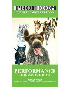 Prof.dog Performance aktive hunde incl. fragt til pakkeshop
