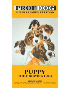 Prof.dog Puppy fuldkost til hvalpe incl. fragt til pakkeshop