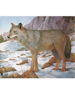 Dyreskive ulv 100 x 85 cm